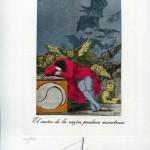 Сальвадор Дали «Сон разума рождает чудовищ» 1977