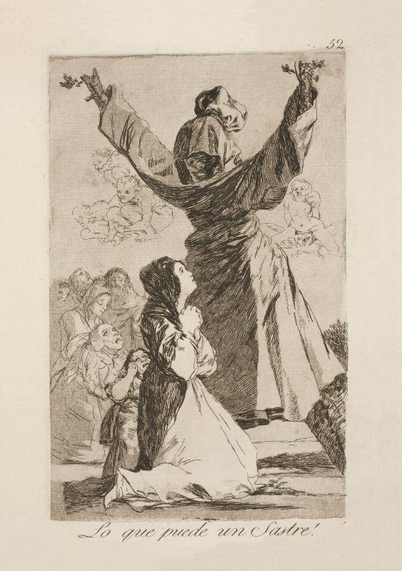 Франсиско Гойя «Чего только не сотворит портной!» 1799