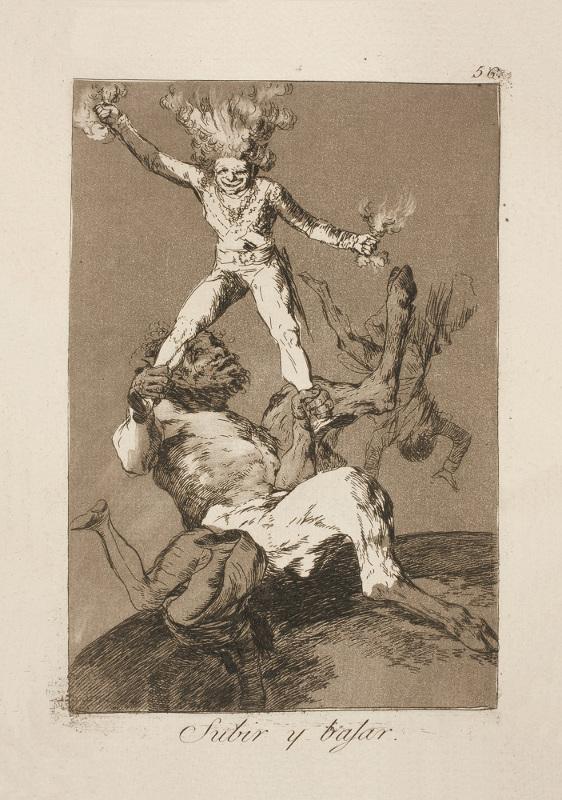 Франсиско Гойя «То вверх, то вниз» 1799