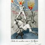 Сальвадор Дали «Как вознесся, так и падешь» 1977