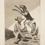 Франсиско Гойя «Погоди! Еще не домазали» 1799