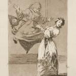 Франсиско Гойя «Не ори, дуреха» 1799