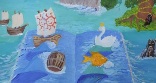Выставка финалистов конкурса «Море в сказках А.С. Пушкина».