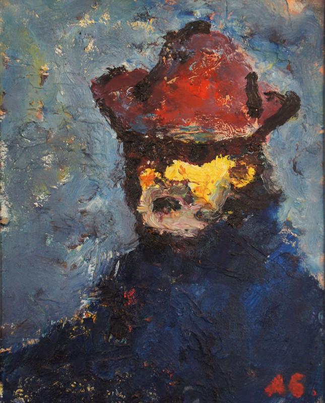 """Арон Бух """"Автопортрет"""" 1997"""