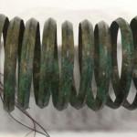 Первое поступление в Исторический музей под номером 1. Браслет многовитковый. Бронза. IX-VIII вв. до н.э.