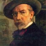 """Иегуда Пэн """"Автопортрет"""" 1922"""