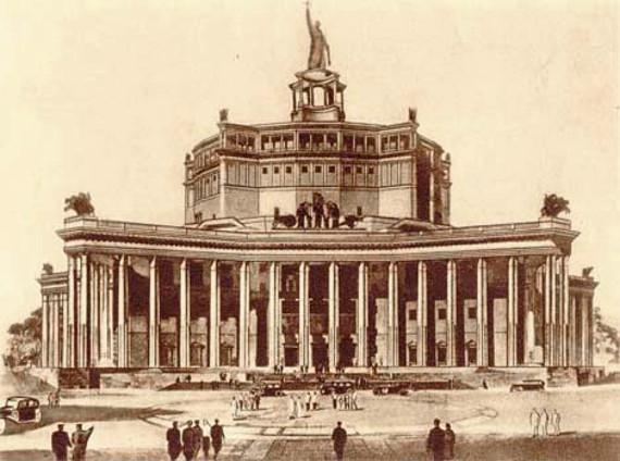 Лекция архитектора Александра Анисимова «Театральные здания двух столиц».