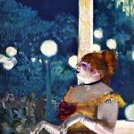 """Эдгар Дега """"Ария собаки"""" 1877 Собрание Хэймейера, Нью-Йорк"""