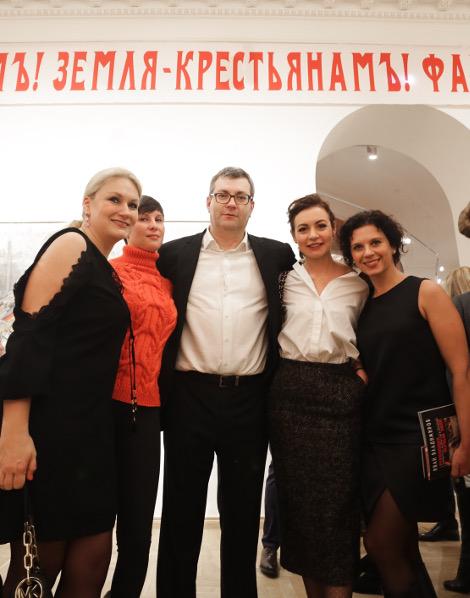 Открытие выставки Ивана Владимирова в Музее современной истории России.