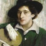 "Иегуда Пэн ""Портрет Марка Шагала"" 1914"