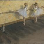 """Эдгар Дега """"Танцовщицы у станка"""" 1877 Музей Метрополитен, Нью-Йорк"""