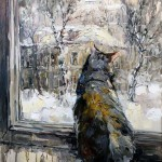"Анна Чарина ""За окном идёт снег"" 2016"