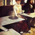 """Эдгар Дега """"Абсент"""" 1876 Музей д'Орсе, Париж"""