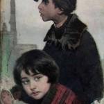 """Иегуда Пэн """"Дети-беженцы"""" 1914"""