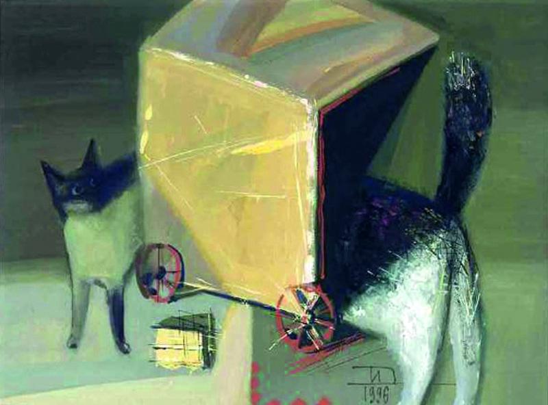 """Дмитрий Иконников """"Дом на колесах"""" 1996"""