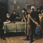 "Иегуда Пэн ""Развод"" 1907"