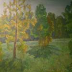 Е. Зверьков «Август в лесу»