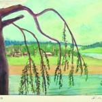 Произведения художницы из коллекции А.Г. Егорова.