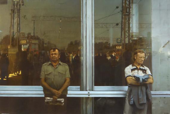 Семён Файбисович «Ожидание» 1989. Собрание ИРРИ.