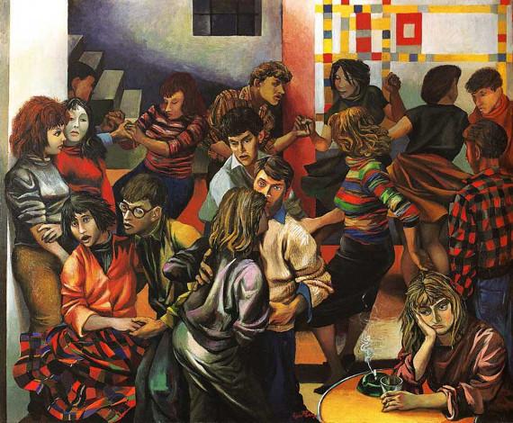 Ренато Гуттузо «Девушки Палермо» 1940