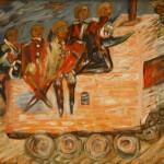 """Светлана Шепелевич """"Военный совет в Филях"""" 1995"""