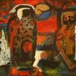 """Василий Шевченко """"Крик младенца"""" 1993"""