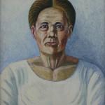 "Иван Селиванов ""Портрет матери"" 1986"