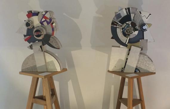 Экспозиция выставки Галины Дулькиной в «Kabinett» Берлин.