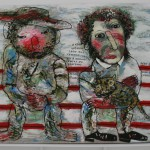 "Олег Ланг ""Кот и Пушкин"" 2009"