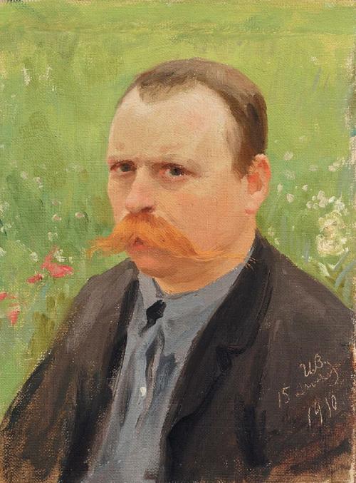 """Иван Владимиров """"Автопортрет"""" 1910 Собрание Владимира Руги"""