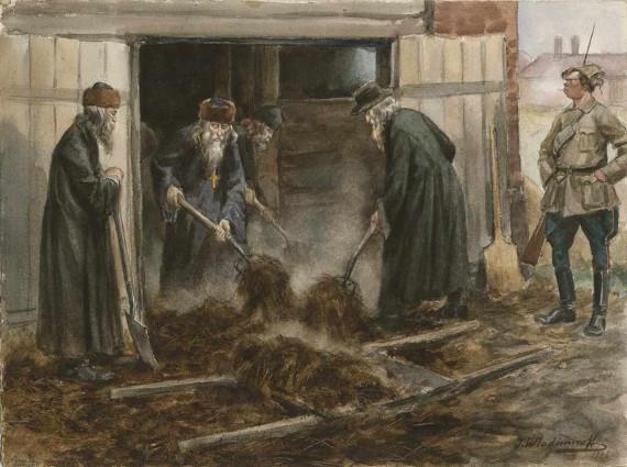 """Иван Владимиров """"Русское духовенство на принудительных работах"""" 1919"""