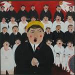"""Андрей Карпов """"Хор"""" 1989"""