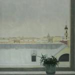 """А. Полковниченко """"Алоэ на окне. Зима"""""""
