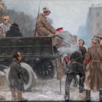 """Иван Владимиров """"Арест царских генералов"""" 1926"""
