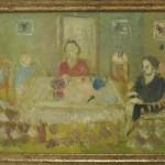 """Андрей Ланской """"Семейный ужин за столом"""" 1930-е"""