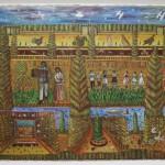 """Павел Леонов """"Люди, звери, рыбы, птицы из деревни Меховицы"""" 1992"""