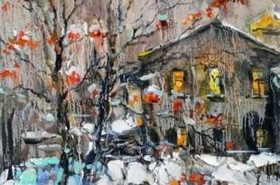 Мастер-класс художницы Анны Чариной.