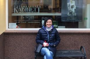 Ксения Цанн-кай-си и Галина Дулькина. К выставке фарфора Галины Дулькиной в Берлине.