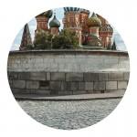Тотальная инсталляция из 850 фоторабот автора с видами столицы.