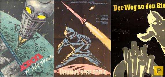 Дорога к звёздам, CCCР. Леннаучфильм, 1957. Режиссёр Павел Клушанцев.