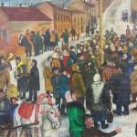"""Татьяна Назаренко """"Проводы зимы"""" 1973"""
