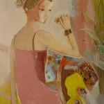 """Расих Ахметвалиев """"Девушка с украшениями"""" 2002-2009"""