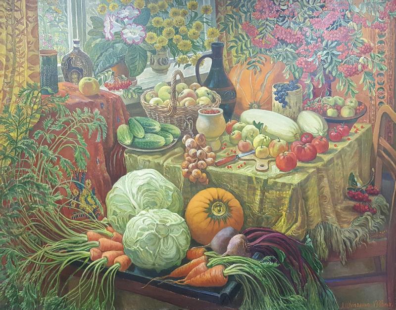 """Любовь Качалина """"Наш урожай"""" 1983"""