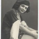 "Екатерина Гельцер в балете ""Корсар"". Фотография 1912"