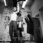 """Митя Лейкин """"Рабочий и крестьянка"""" 1989 Из серии """"Памятники Отечества"""""""