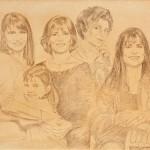 """Крисс Гуэнцати Дубини """"3 поколения женщин"""" 1994"""