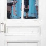 Ретроспективная выставка. Бумажные и «дверные» шелкографии.