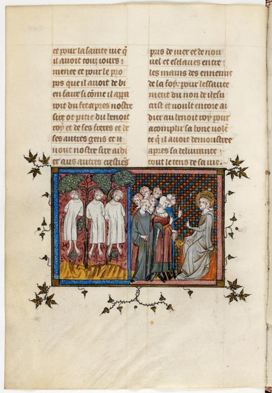 Людовик IX вершит правосудие