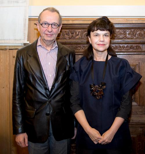 Марина Лошак и Жан-Юбер Мартен
