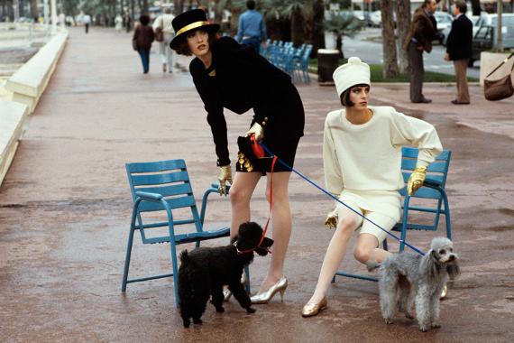 Денис Пил — Vogue USA. 1986
